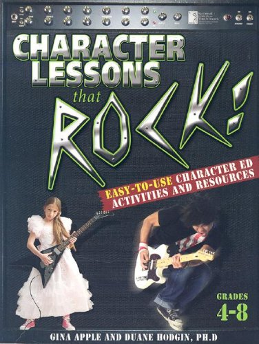 9781931636124: Character Lessons That Rock: Grades 4-8