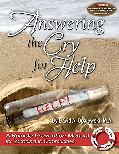 9781931636735: Answering the Cry for Help - A Suicide Prevention Manual