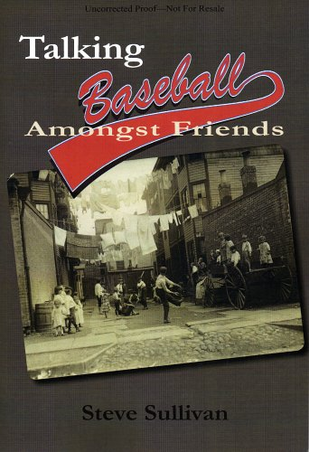 Talking Baseball Amongst Friends (1931643857) by Sullivan, Steve