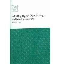 Arranging & Describing Archives & Manuscripts: Roe, Kathleen