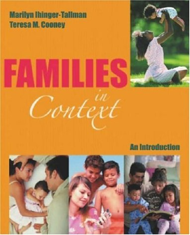 9781931719070: Families In Context: An Introduction