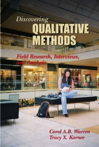 9781931719247: Discovering Qualitative Methods: Field Research, Interviews, and Analysis