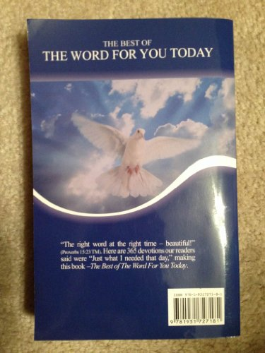 9781931727181: The Best Of The Word For You Today IV
