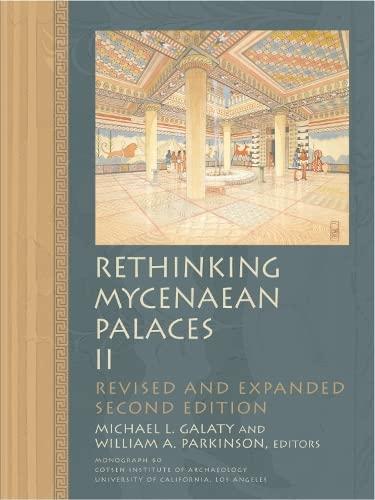 9781931745420: Rethinking Mycenaean Palaces II (Monographs)