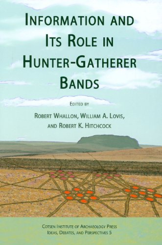 9781931745635: Information and Its Role in Hunter-Gatherer Bands (Ideas, Debates and Perspectives)