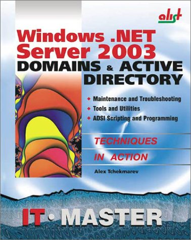 9781931769006: Windows .NET Server 2003 Domains & Active Directory