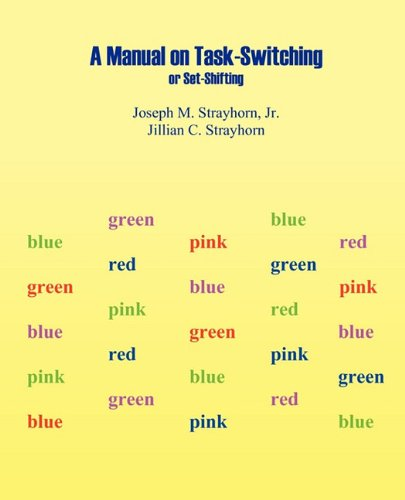 Manual on Task-Switching or Set-Shifting: Joseph Mallory Strayhorn