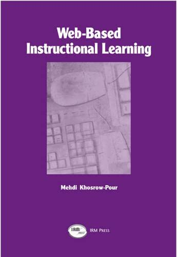 9781931777049: Web-Based instructional Learning