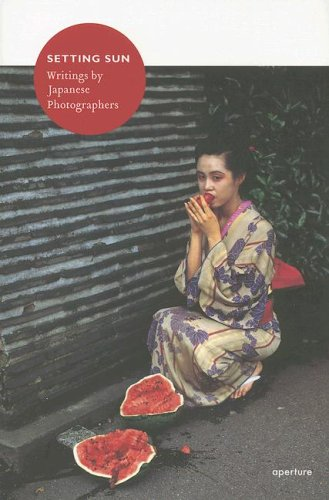 9781931788830: Setting Sun: Writings by Japanese Photographers