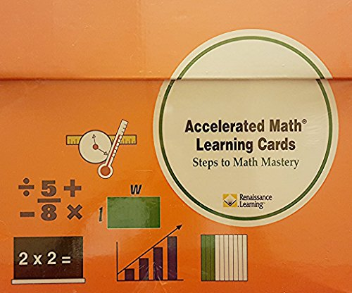 9781931819251: Accelerated Math Learning Cards Steps to Math Mastery (Basic Math)