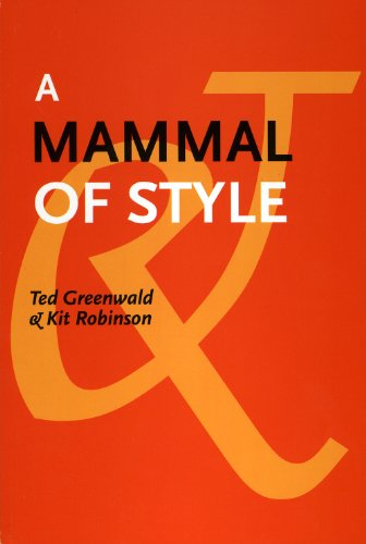 9781931824538: A Mammal of Style