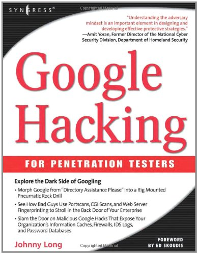 9781931836364: Google Hacking for Penetration Testers