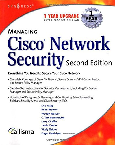 9781931836562: Managing Cisco Network Security 2E