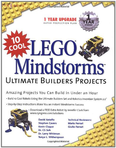 9781931836609: 10 Cool LEGO Mindstorms Ultimate Builder Projects: Amazing Projects You Can Build in Under an Hour