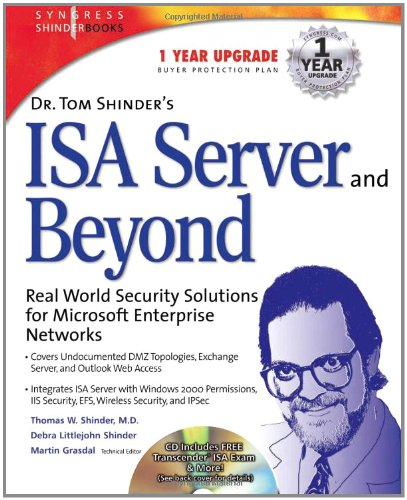 9781931836661: Dr Tom Shinder's ISA Server and Beyond: Real World Security Solutions for Microsoft Enterprise Networks