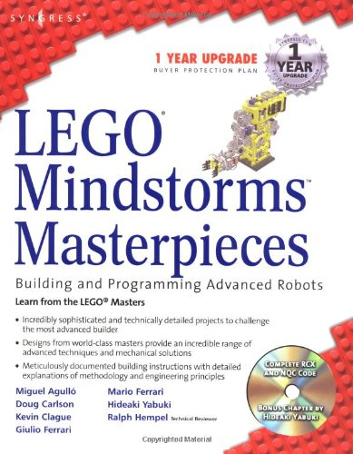 LEGO Mindstorms Masterpieces: Building Advanced Robots: Hempel, Ralph,Brown, J.