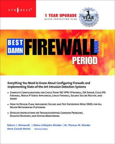9781931836906: The Best Damn Firewall Book Period