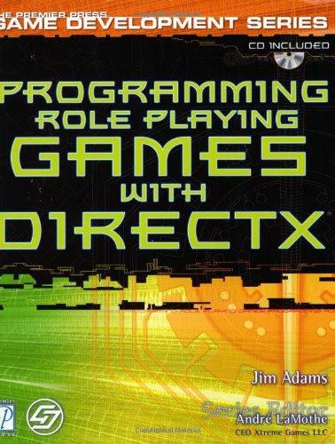 9781931841092: Programming Role Playing Games with DirectX w/CD (Premier Press Game Development)