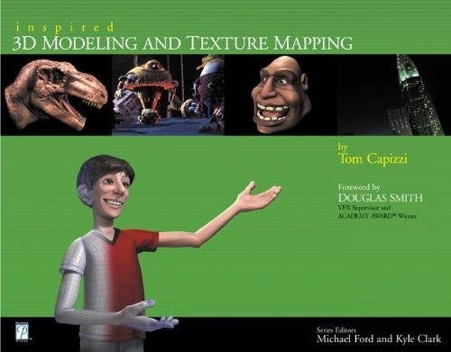 9781931841504: Inspired 3D Modeling & Texture Mapping