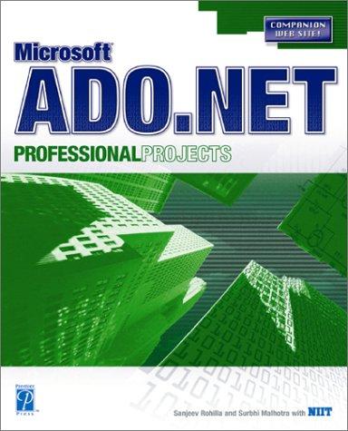 9781931841542: Ado Net Prof Projects