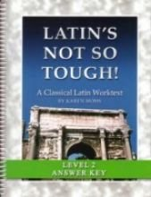 9781931842563: Latin's Not So Tough! Level 2, Full Text Answer Key