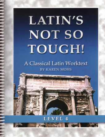 9781931842655: Latin's Not So Tough! Level 4, Workbook