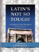 9781931842662: Latin's Not So Tough! Level 4, Full Text Answer Key