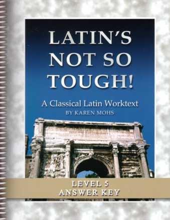 9781931842716: Latin's Not So Tough! Level 5, Full Text Answer Key