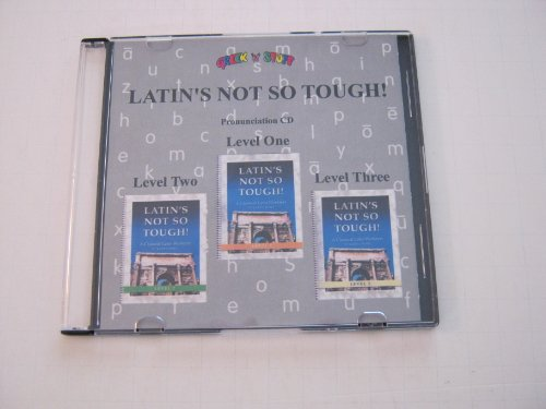 9781931842754: Pronunciation CD for Latin's Not So Tough! Levels 1, 2, and 3
