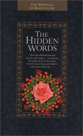 9781931847070: The Hidden Words