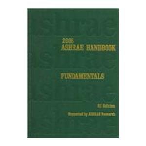 2005 Ashrae Handbook : SI Edition: Mark Owen