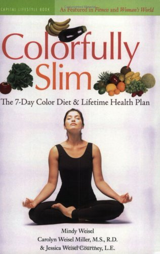 9781931868983: Colorfully Slim: The 7-Day Color Diet and Lifetime Health Plan (Capital Lifestyles)