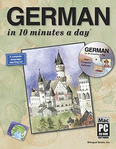 9781931873031: GERMAN in 10 minutes a day® with CD-ROM