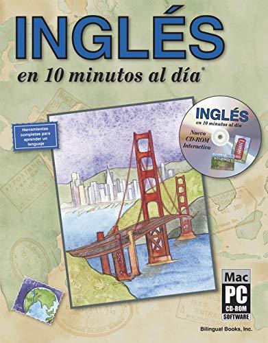 9781931873055: INGLES en 10 minutos al dia® con CD-ROM (Spanish Edition)