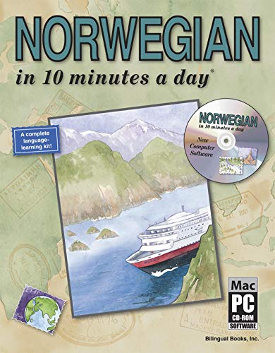 9781931873086: NORWEGIAN in 10 minutes a day® with CD-ROM
