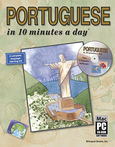 9781931873093: PORTUGUESE in 10 minutes a day® with CD-ROM