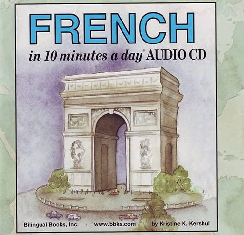 9781931873253: FRENCH in 10 minutes a day AUDIO CD Wallet - Library Edition ([i] 10 minutes a day[/i][sup] R[/sup] AUDIO CD Series)