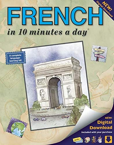 9781931873291: French in 10 Minutes a Day