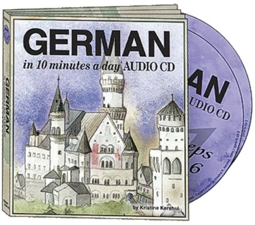 9781931873963: German in 10 Minutes a Day Audio CD