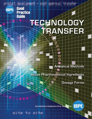 9781931879132: ISPE Good Practice Guide: Technology Transfer