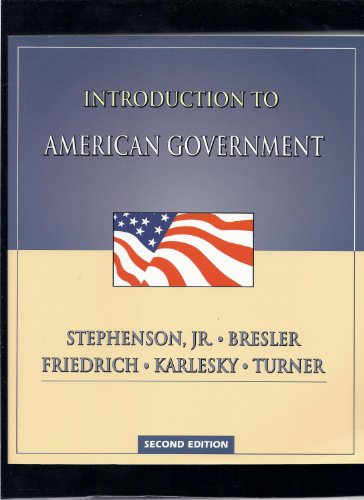 9781931910101: Introduction to American Government
