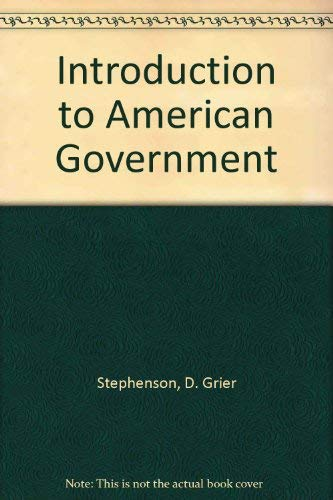9781931910187: Introduction to American Government