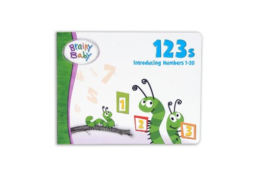 9781931959797: Brainy Baby 123's: Introducing Numbers 1-20 (Brainy Baby (Brainy Baby))