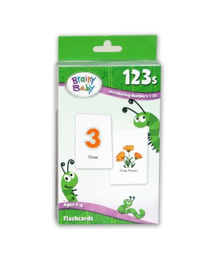 9781931959872: Brainy Baby 123's: Introducing Numbers 1-20
