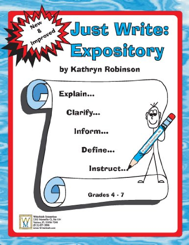 9781931970396: Fourth Grade Writing Activites, Prompts, Lessons | Expository Program (Just Write, 4th - 6th Grade)