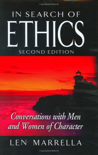 9781932021110: In Search of Ethics: Conversations with Men and Women of Character