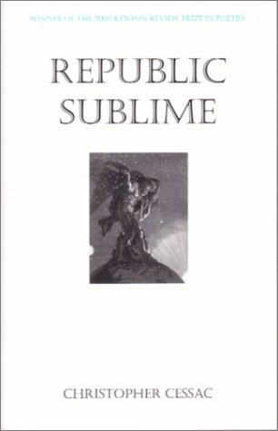 9781932023060: Republic Sublime (Kenyon Review Prize in Poetr)