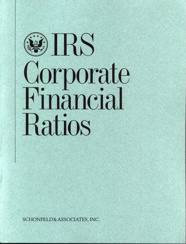 9781932024708: IRS Corporate Financial Ratios