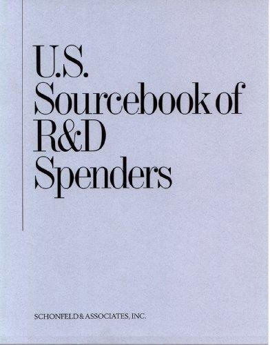 9781932024920: U.S. Sourcebook of R&D Spenders, 2012 edition (U S SOURCEBOOK OF R AND D SPENDERS)