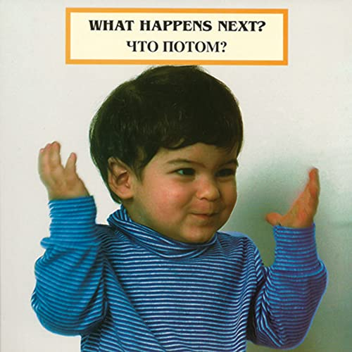 9781932065879: What Happens Next? (English/Russian) (Photoflap) (Russian Edition) (Photoflaps)